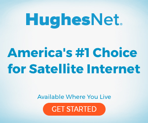HughesNet Digital Ad Example 2