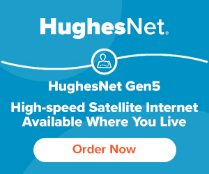 HughesNet Digital Ad Example 1
