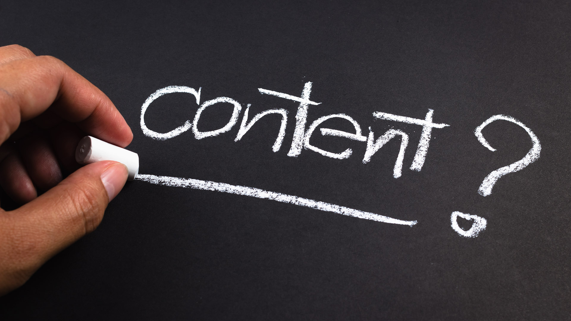 The Foundation for an Effective Content Strategy